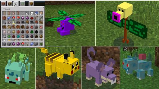 Pixelmon MOD MCPE 0.14.0 Screenshot