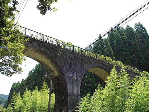 旧国鉄宮原線 堂山橋梁