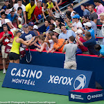 Maria Sharapova meets the crowd