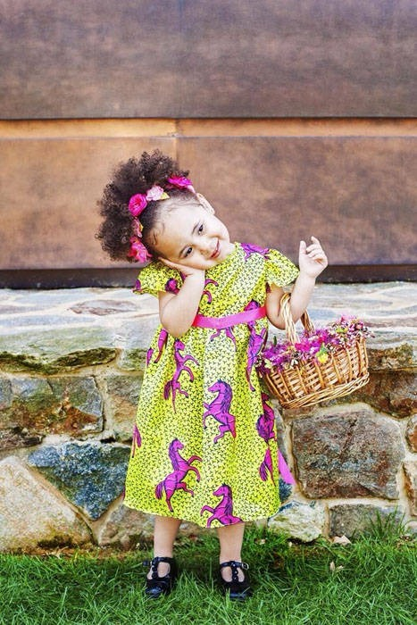 Latest Ankara Styles for kids (1)