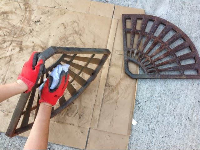 Justo para mi como pintar hierro oxidado - Como limpiar metal oxidado ...