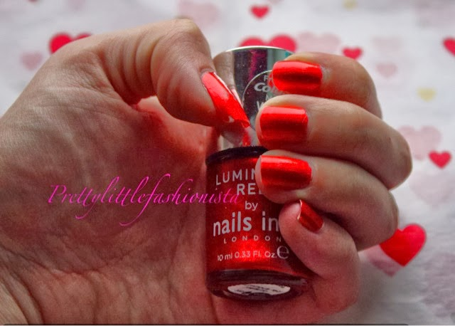 Nails Inc Luminous Red