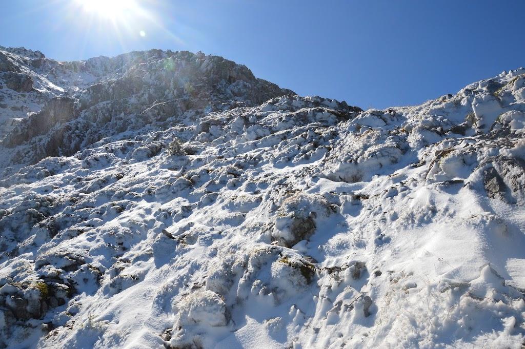 Veliki vrh v Košuti po severnem grebenu