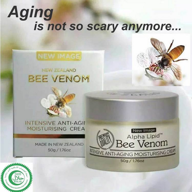 Alpha Lipid Bee Venom Intensive Anti-Aging Moisturising Cream 50g by Carol Fung