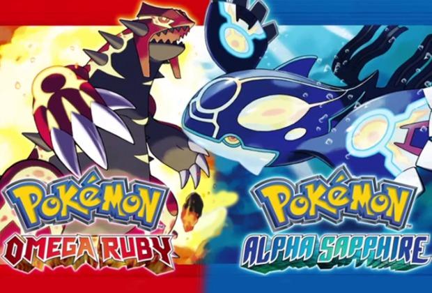 Pokémon ORAS Omega Rubin Alpha Saphir Karte Map Legendäre Legendary