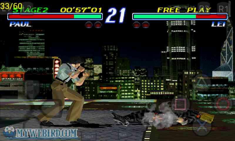Tekken 2 Playstation 1 Gameplay