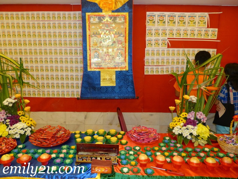 Lord Yellow Dzambala Puja