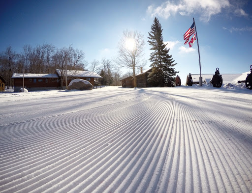 Start area after fresh grooming Thursday morning.
