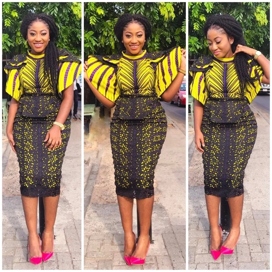 ANKARA STYLE PLANS FOR WEDDING LADY GUESTS IN 2019 4
