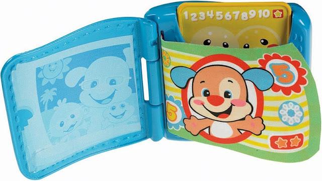Chiếc ví thông thái Fisher Price Learning Wallet phù hợp với bé trên 6 tháng