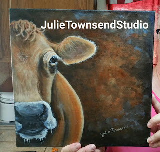 Cow Art, Farmhouse Style, cows, Dairy Cow, Farm Art, Country Art,