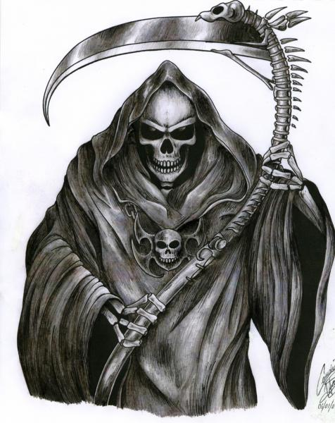 The Grim Reaper Tattoo By Demon Child97, Evil Creatures 2