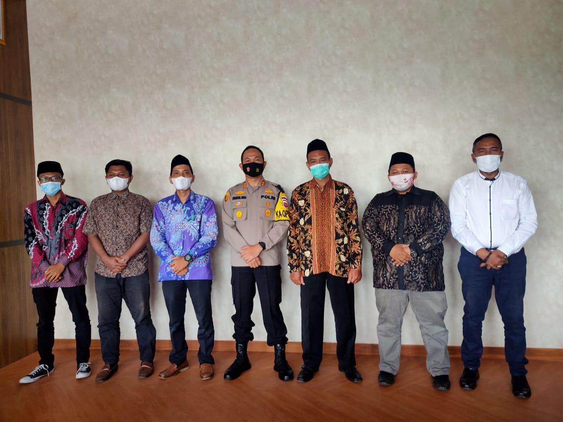 Jalin Silaturahmi Kamtibmas, Kapolres Majalengka Polda Jabar Terima Kunjungan Dari Nelayan NU