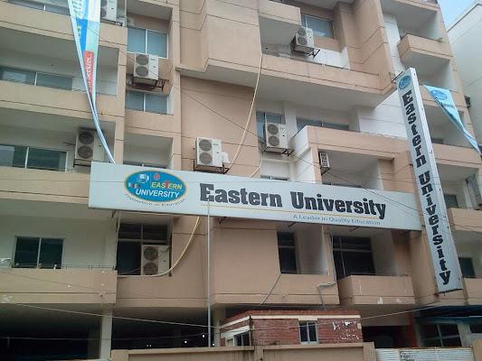 Eastern University, Eastern University, Eastern University, Road No. 5, Dhaka, Bangladesh