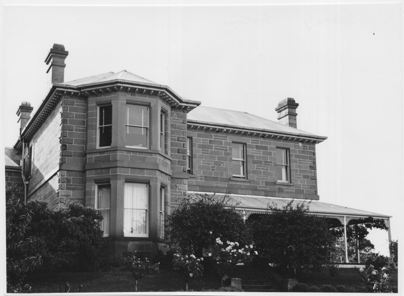 'Glenelg', Gretna, Tasmania. Built 1878. Designed Henry Hunter; 1963