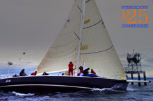 J/160 JAM sailing off Seattle