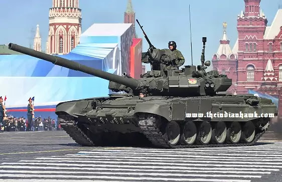 T-90 Bhishma Tank in Russia