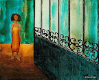 052 - Maere - 1994 27 x 22 - Encre acrylique sur toile