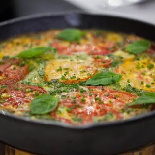 Al Roker's Vegetable and Bacon Frittata.