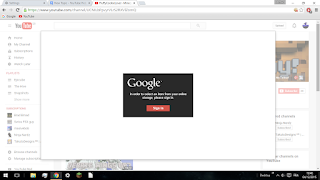 Unable to upload access edit channel art option on my YouTube page ...