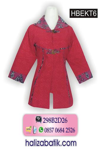 model batik kerja, batik baju, batik kerja wanita