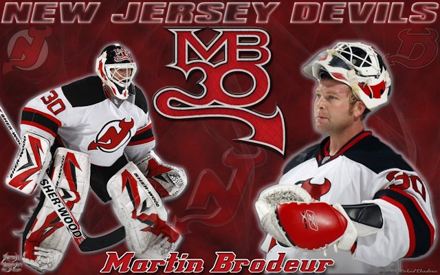 Martin Brodeur MB30 New Jersey Devils Wallpaper