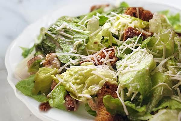 caesar salad dressing sans anchovies recipe just a pinch recipes. Black Bedroom Furniture Sets. Home Design Ideas