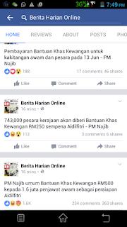 Bonus RM500 Penjawat Awam 2016
