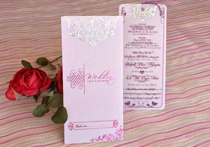Thiệp cưới túi giá rẻ