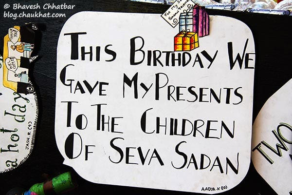 Kala Ghoda - A note on birthday presents by a kid