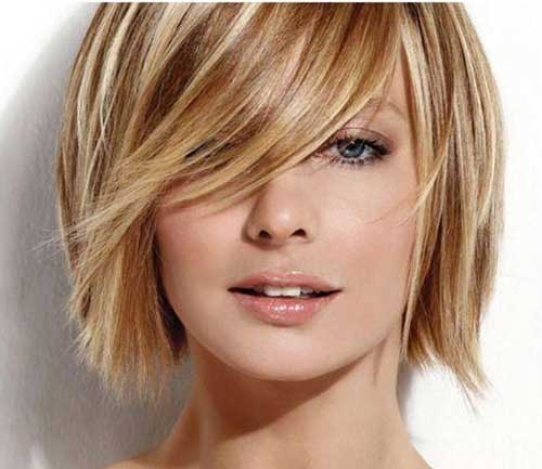 Strange Short Blonde And Brown Colored Wavy Hairstyle Fashion Qe Hairstyles For Men Maxibearus