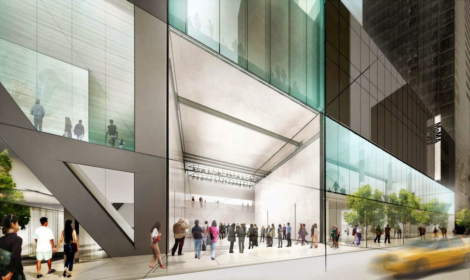 New York, Stati Uniti: [MOMA EXPANSION BY DILLER SCOFIDIO + RENFRO]