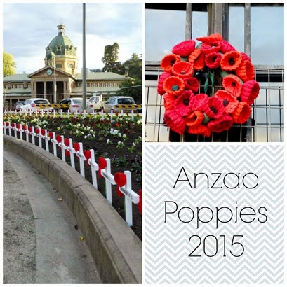 Anzac Poppies 2015