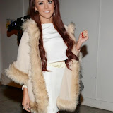 WWW.ENTSIMAGES.COM -   Lydia Lucy     arriving      at      Amy Childs Clothing anniversary party at Dirty Martini, London October 27th 2014The Only Way is Essex star hosts party to celebrate the third anniversary of her eponymous fashion line and launch her new autumn/winter 2015 collection.                                                  Photo Mobis Photos/OIC 0203 174 1069