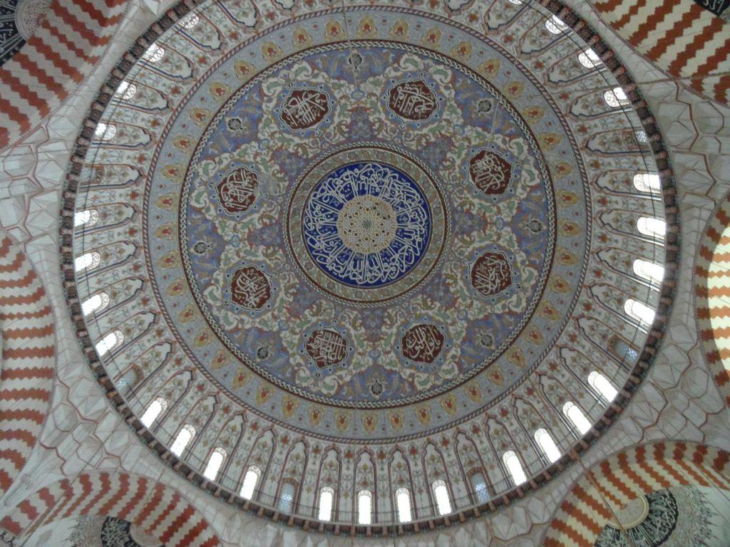 Edirne, Selimiye Camii kubbesi