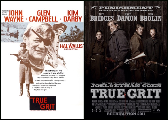 Merc With A Movie Blog Side By Side True Grit 1969 Vs True Grit 2010