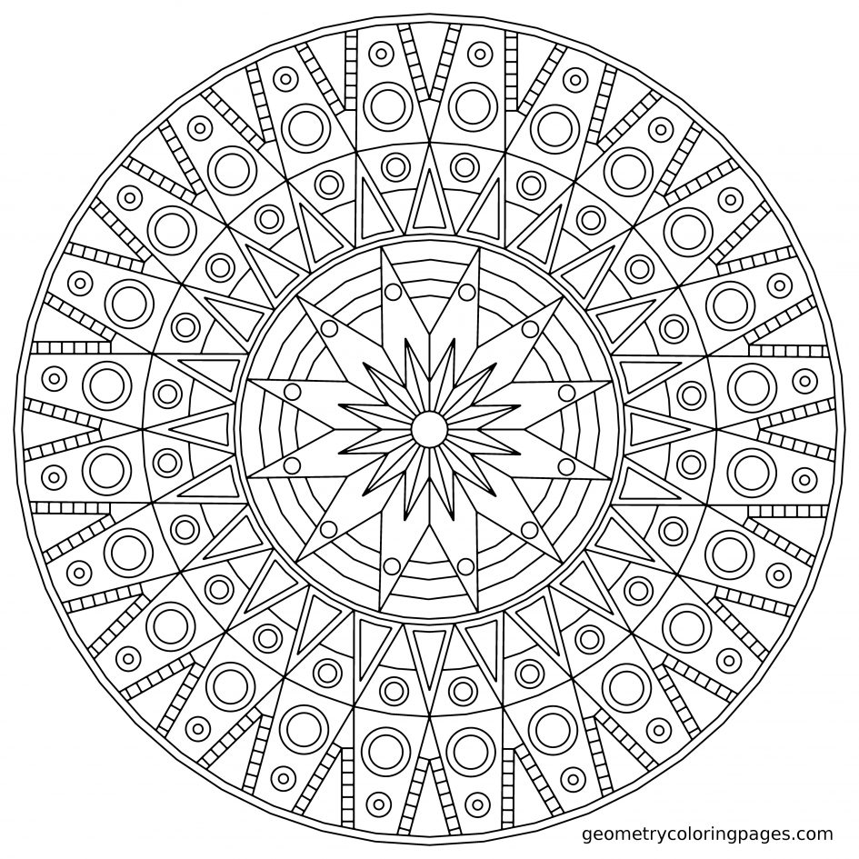 Best HD Butterfly Mandala Coloring Pages Printable Drawing