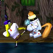 Master Spongebob Kungfu Fight Kombat
