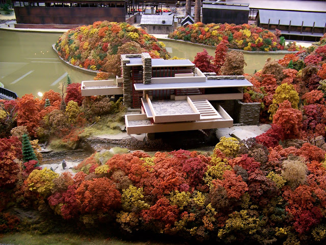 Fallingwater at the Miniature Railroad and Village. A Guide to Exploring the Carnegie Science Center