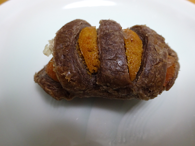 和栗とチョコのひとくちパイ