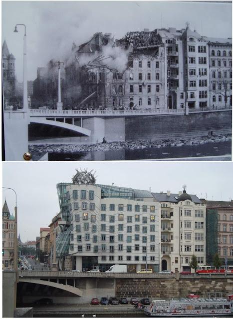المنزل الراقص قبل وبعد الحرب