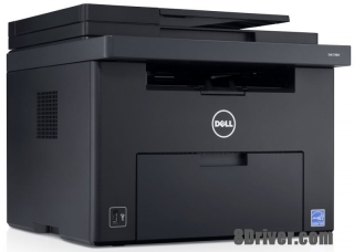 How to download Dell C1765NF MFP printer driver and set up on Windows XP,7,8,10