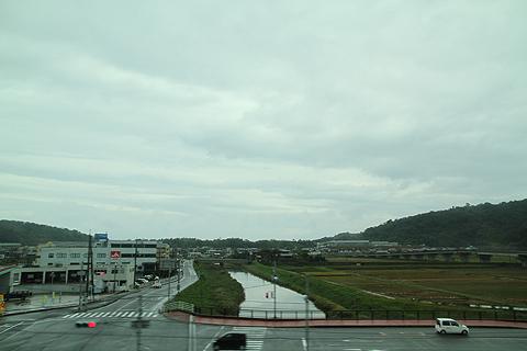 日ノ丸自動車「大山号」からの車窓 その2