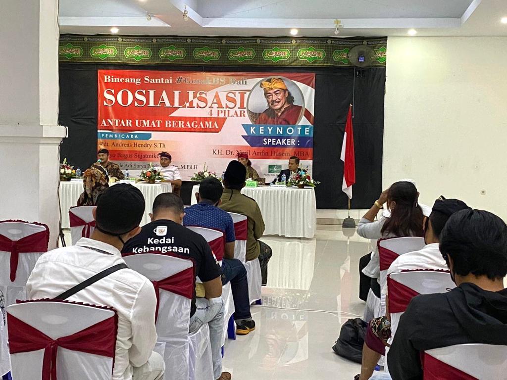 Bamsoet Bersama Gus Nuril dan Gerak BS Bali Ajak Pemuka Agama Jaga Kebhinekaan dan Persatuan Bangsa