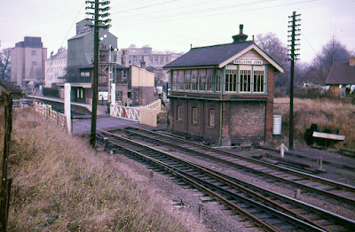 Great Shelford station circa 1960