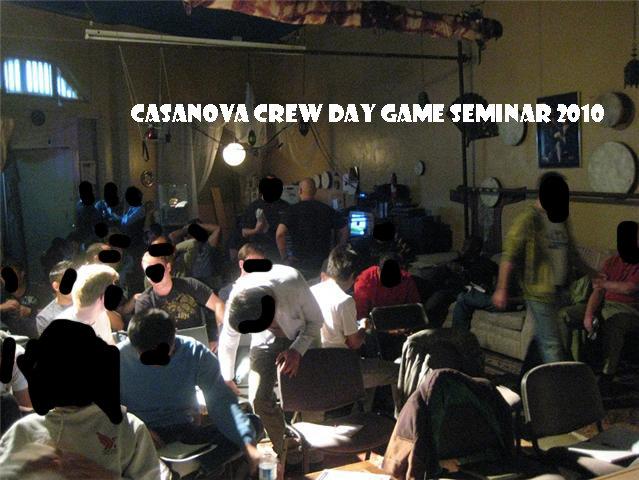 Casanova Crew Day Game Seminar 2010 1, Casanova Crew