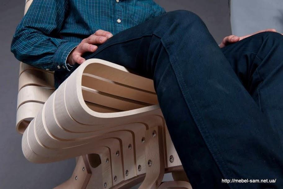 Сиденье кресла под нагрузкой
