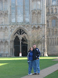 With Angie at Ely Cathedral