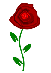 clipart-letters-free-rose