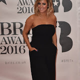 OIC - ENTSIMAGES.COM - Caroline Flack at the  The BRIT Awards 2016 (BRITs) in London 24th February 2016.  Raymond Weil's  Official Watch and  Timing Partner for the BRIT Awards. Photo Mobis Photos/OIC 0203 174 1069